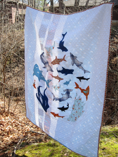 Shoal (the Shark Quilt) | : shark quilt - Adamdwight.com