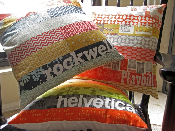 Casey York Type Geek Pillows