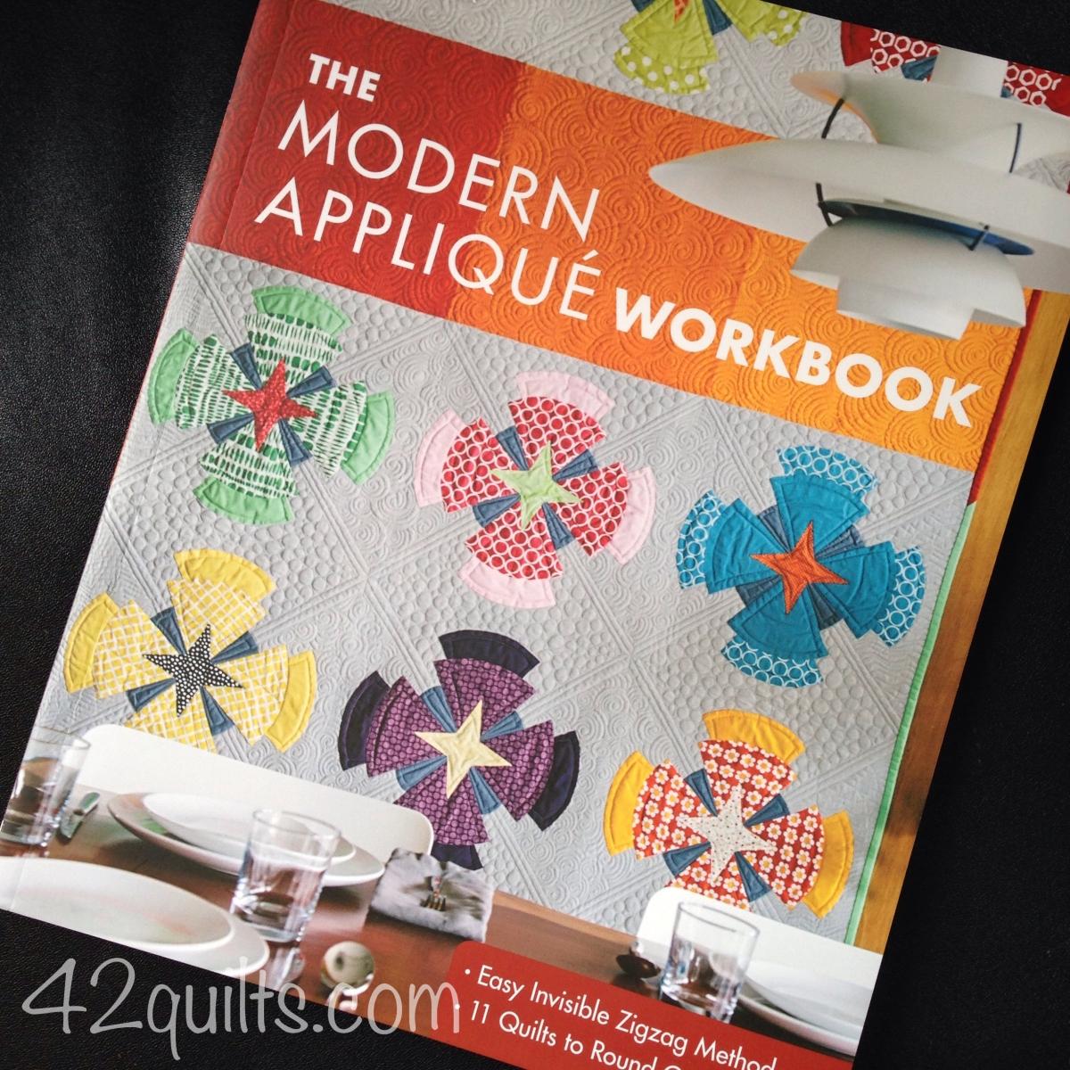 modern applique workbook blog tour. Black Bedroom Furniture Sets. Home Design Ideas